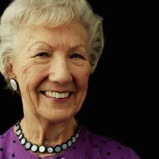 Fotografía de una mujer mayor
