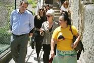 HHS Secretary Sebelius tours Santa Marta Favela in Rio de Janeiro, Brazil with a local health outreach worker. Credit: Photo by U.S.ConGen - Rio de Janeiro.