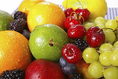 surtido de frutas