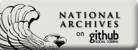 Find the National Archives on GitHub