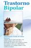 Cubierta del folleto Trastorno Bipolar (fáci de leer)