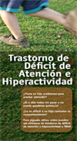 Cubierta del folleto Trastorno de Déficit de Atención e Hiperactividad (Fácil de Leer)
