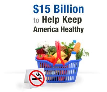 $15 billion to help keep america healthy