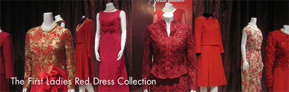 The First Ladies Red Dress Collection