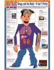 Picture of Heads Up: Drugs & The Body- It Isn't Pretty. Double Sided English/Spanish Poster