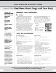 Picture of Heads Up: Real News About Drugs and Your Body- Year 08-09 Compilation for Teachers
