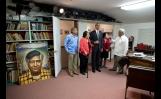 President Barack Obama Views The Office Of Cesar Chavez