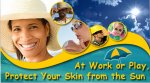 eCard: At work or at play. Protect your skin from the sun.