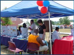 Image of people at a healty community event