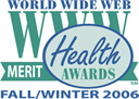 World Wide Web Merit Health Award