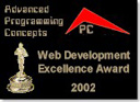 Web Development Award 2002