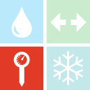 Clean, Separate, Cook, and Chill icons