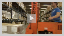 Video Image: From distribution facilities in Laurel, MD and Pueblo, CO, GPO distributes products worldwide.