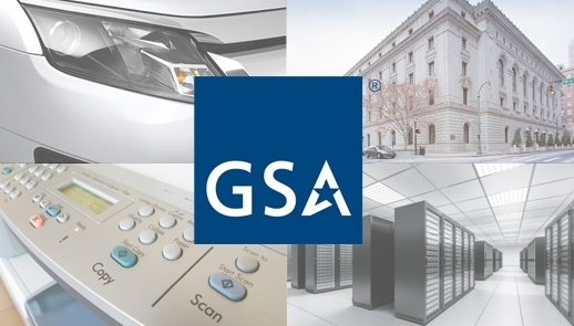 collage of images with the GSA Starmark