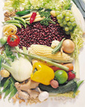 Frest fruits, vegetables, and juices