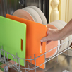 putting dishes in dishwasher