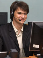 photo of a toll-free operator