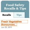 small picture of Food Safety Widget