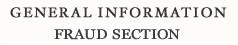 General Information Criminal Divison's Fraud Section