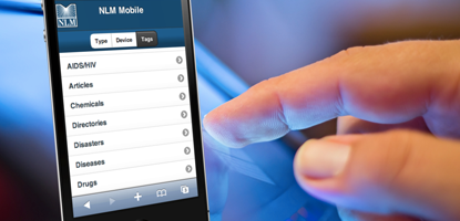 New App Serves as Guide to NLM Mobile