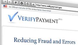 VerifyPayments.gov website