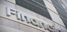 Financial Building Close Up