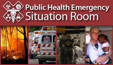 Public Health Emergency Situation Room Learn More.