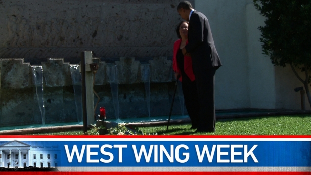"West Wing Week: 10/12/12 ""Our Journey Is Never Hopeless, Our Work Is Never Done"""