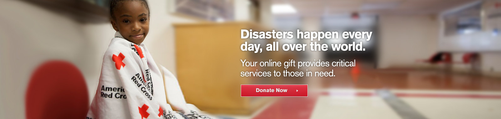 Disasters happen every day.