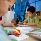 A little anxiety seemed to help kids with good working memory, research found.
