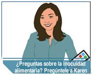 Use Pregúntele a Karen, la representante virtual del FSIS