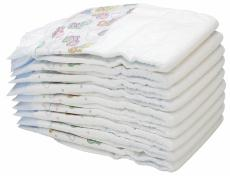 Photograph of disposable diapers