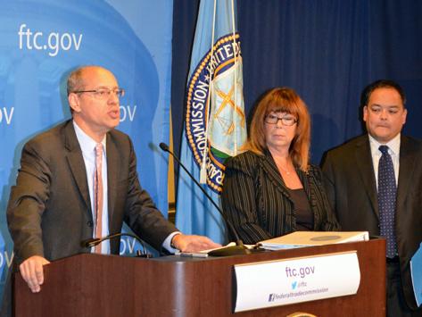 FTC press conference participants
