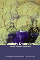 Cover for the booklet Anxiety Disorders.