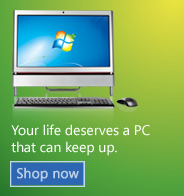 Your life deserves a PC that can keep up. Shop now.