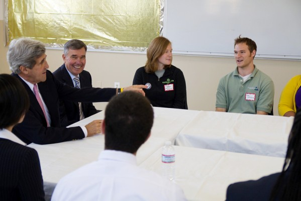 Kerry Hosts Youth Anti-Drug Summit in Chelsea with President Obama's Drug Czar, Meets with AmeriCorps Volunteers