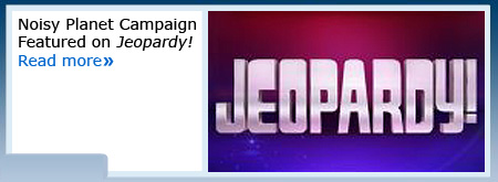 NIDCD's Noisy Planet Campaign to be Featured on Jeopardy!