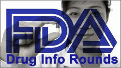 FDA Drug Info Rounds logo