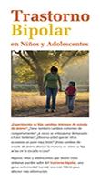 Cubierta del folleto Trastorno Bipolar en Niños y Adolescentes (fácil de leer)