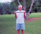 Doug Exercising.