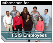 Link to Information for FSIS Employees