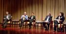Left to Right Darrell M. West, Mark H. Webbink, Gigi B. Sohn,  Jason R. Baron, Beth Simone Noveck