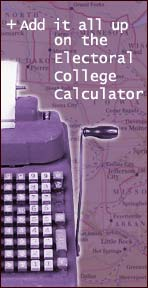 Add it all up on the Electoral College Calculator