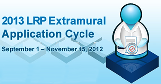 Loan Repayment program 2013 applications September 1 to November 15, 2012