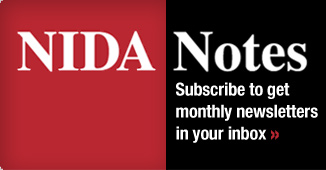 NIDA Notes: Subscribe to get monthly newsletters in your inbox