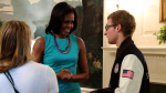 The Decision to Move Forward: First Lady Michelle Obama Meets Paralympian Lt. Brad Snyder