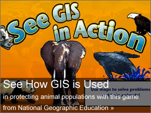 promo to highlight the GIS in Action game