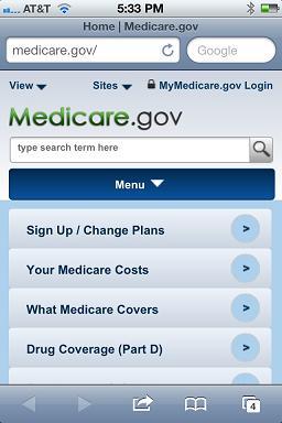 The new Medicare.gov for smartphones