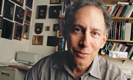 Robert Langer seated in his office