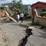 Damage from mudslide